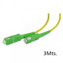 Latiguillo Fibra Datos 3Mts