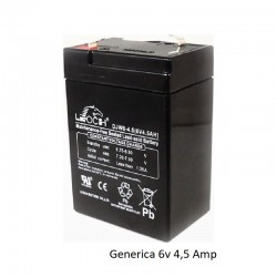 Bateria Plomo 6v 4,5amp