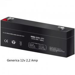 Bateria Plomo 12v 2,2amp