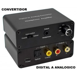 Convertidor Digital a Analogico C/ Volumen