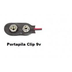 Clip Pila/Bateria 9v