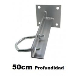 Soporte Pared Mastil 50cm