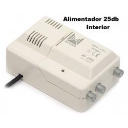 Amplificador Interior Tdt 2 Salidas 25db