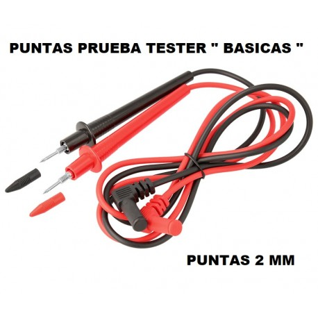 "Punta Prueba Tester 2mm "" Basica """