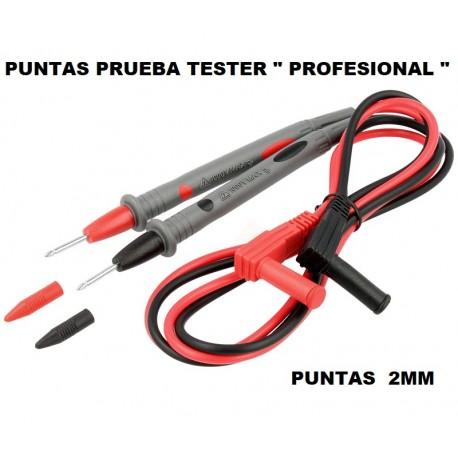 "Punta Prueba Tester 2mm "" Profesional """