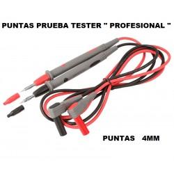 "Punta Prueba Tester 4mm "" Profesional """