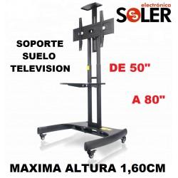 "Soporte Suelo Televisor 50-80"""