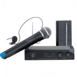 Microfono Inalambrico Mu-1002 Set