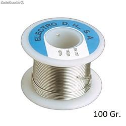 Rollo Estaño 60/40 C/ Plomo+Flux 100gr