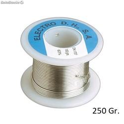 Rollo Estaño 60/40 C/ Plomo+Flux 250gr