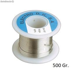 Rollo Estaño 60/40 C/ Plomo+Flux 500gr