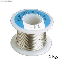 Rollo Estaño 60/40 C/ Plomo+Flux 1 Kg